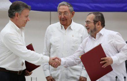 Firma de paz Colombia - FARC