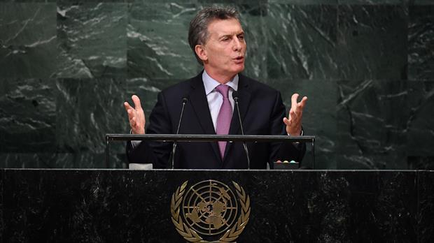 Macri en la ONU