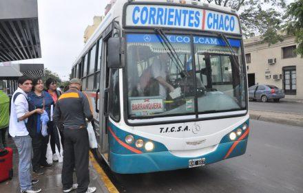 Colectivo Chaco Corrientes