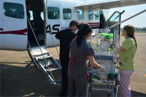 Avión Sanitario
