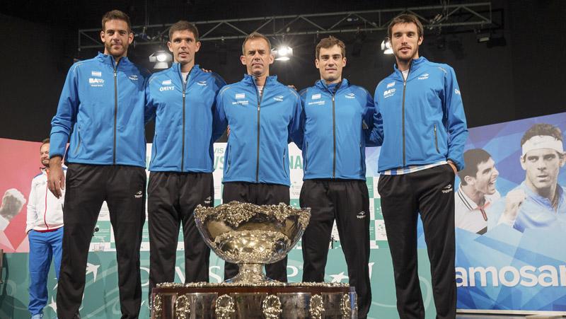 zzzznacd2 NOTICIAS ARGENTINAS ZAGREB CROACIA, NOVIEMBRE 24: Sorteo de la final de la Copa Davis entre Argentina y Coracia.  Foto NA: Sergio Llamera/prensa AAT zzzz