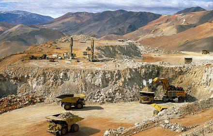 zzzznacg2NOTICIAS ARGENTINAS BAIRES, SEPTIEMBRE 14: Fotografia de archivo de la mina Veladero en San Juan que explota la empresa Barrick Gold donde se produjo un  nuevo derrame el 8 de septiembre, y fue dado a conocer recién anoche por la empresa.  Foto NAzzzz