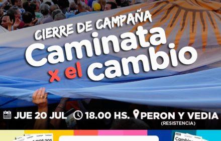 CIERRE DE CAMPAÑA CAMBIEMOS