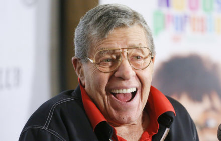 Mandatory Credit: Photo by Erik Pendzich/REX/Shutterstock (3791639j) Jerry Lewis 'The Nutty Professor' 50th Anniversary celebration and Blu-Ray Collector's Edition launch party, New York, America