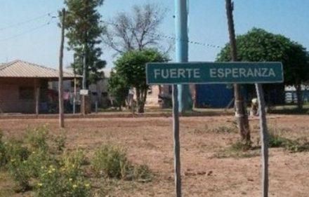 588_FUERTE ESPERANZA sin agua desde el jueves