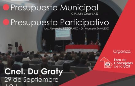 Capacitacion Foro de Concejales Du Graty