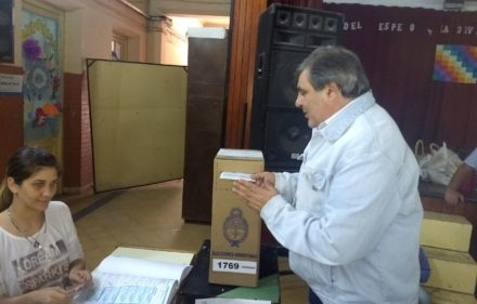 CARIM PECHE - VOTO EN SAENZ PEÑA
