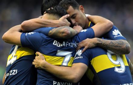 Festejo-gol-Boca-Chacarita-Superliga-Fecha-5-750x400