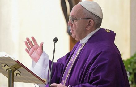 PapaFranciscoMisaSantaMartaHomila_VaticanNews_16022018