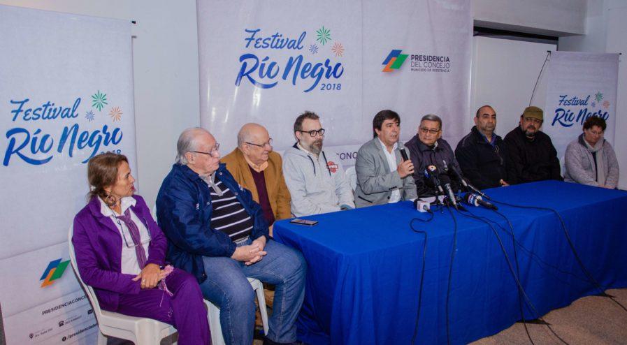 MARTINEZ PRESENTO EL FESTIVAL DEL RIO