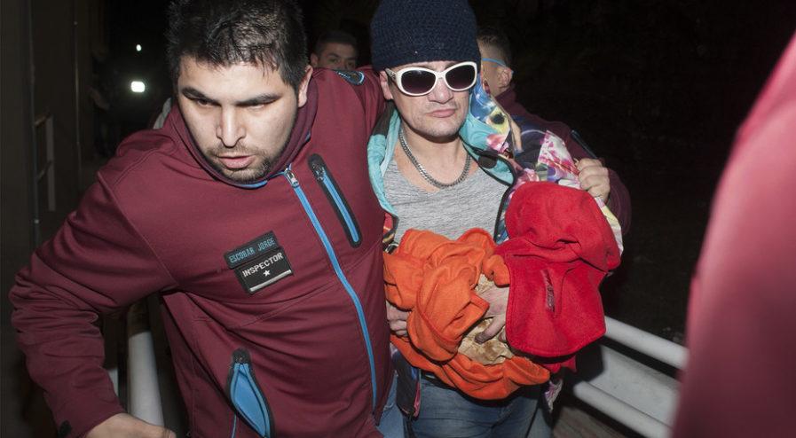 Buenos Aires 13 de julio 2018 Pity Alvarez se entrega en la comisaria 52 del barrio de villa lugano foto Rolando Andrade Stracuzzi ley 11723