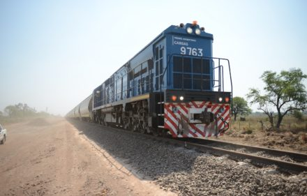 Trenes Argentinos Cargas - Tren Belgrano en Pampa del Infierno