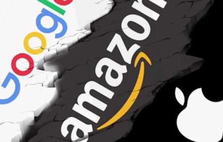 amazon apple google