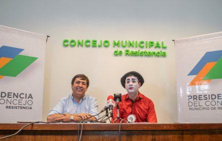 MARTINEZ PRESENTÓ CHAQUE EL CIRCO