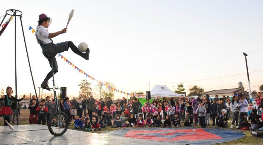Foto archivo - chaque el circo.