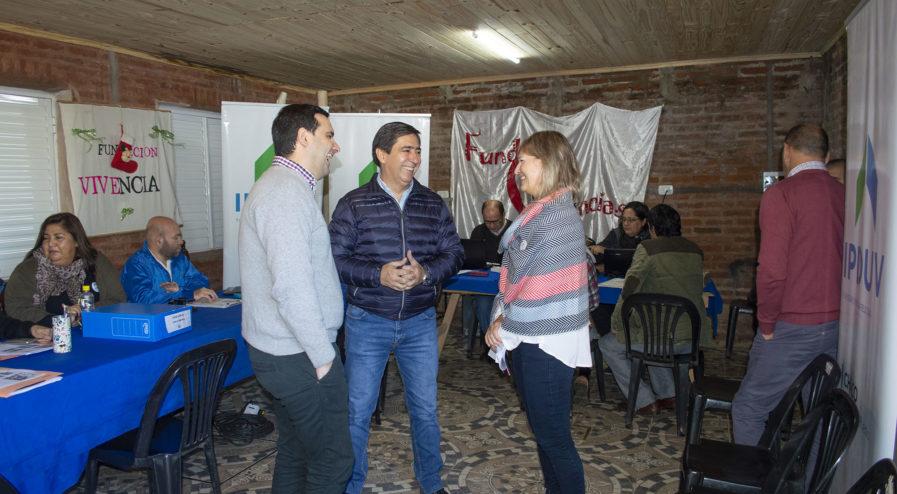 Operativo de regularización dominial en villa Ghio