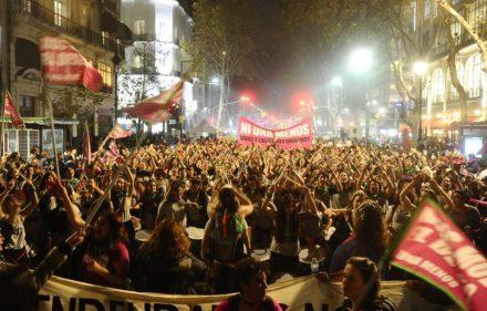 03 06 19 Sociedad  Marcha ni una menos Foto Juan Manuel Foglia