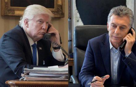 Macri Trump telefono