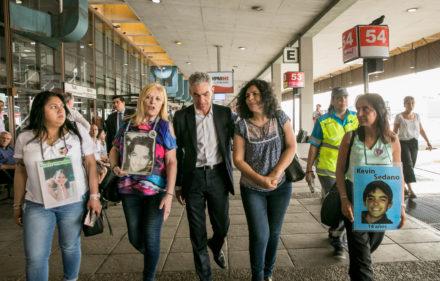 El Ministro Meoni en el comienzo del operativo Disfrutá viajar