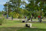 Trabajos en la Plaza de la Integración (2)