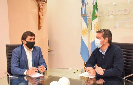 GUSTAVO CON EL GOBERNADOR