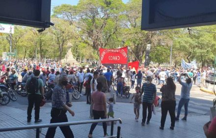 Manifestación Centro de Resistencia