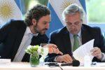 el-presidente-alberto-fernandez-junto-al-jefe-gabinete-la-nacion-santiago-cafiero